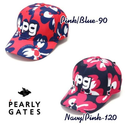 【NEW】PEARLY GATES パーリーゲイツBRAVE BLOSSOMS�� リボン付きツイルキャップ 053-1187200/21AF