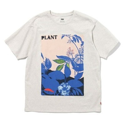 【SALE/40%OFF】Levi's WLTRD VINTAGE Tシャツ SILVER LEAF GREY GRAPHIC リーバイス カットソー Tシャツ