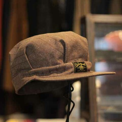 """Delinquent Bros""""40's Style Work Cap""""Brown【Delinquent Bros】(デリンケントブロス)正規取扱店(Official Dealer)Cannon..."""