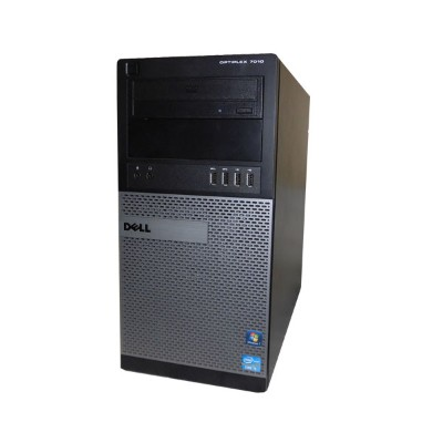 Windows7 Pro 32bit DELL OPTIPLEX 7010 MT Core i5-3550 3.3GHz 2GB 500GB DVD-ROM 中古パソコン デスクトップ タワー型...