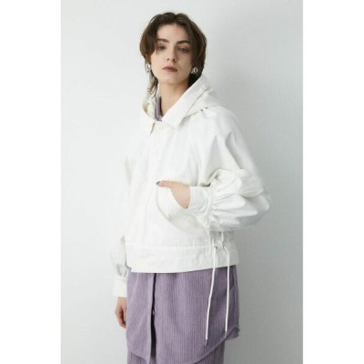 【SALE/60%OFF】MOUSSY HOODED UTILITY ジャケット マウジー コート/ジャケット コート/ジャケットその他 ホワイト カーキ【送料無料】