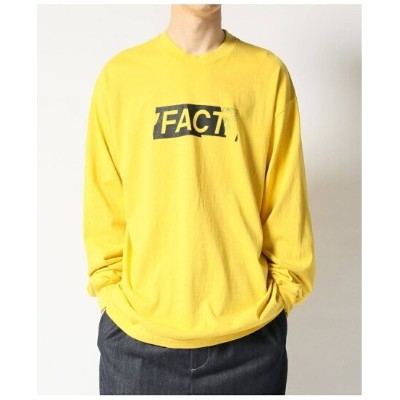 【SALE/30%OFF】JOINT WORKS 【FACT. / ファクト】 Faded Type L/SL Tee ジョイントワークス カットソー Tシャツ イエロー ブラック ホワイト...
