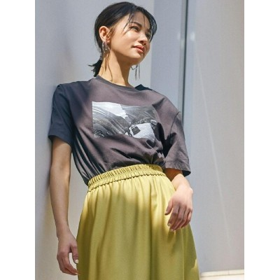 【SALE/60%OFF】LAUTREAMONT 【雑誌掲載】 大草直子さんコラボ【OWN】5th Collection NYフォトプリントTシャツ ロートレアモン カットソー Tシャツ ピンク...