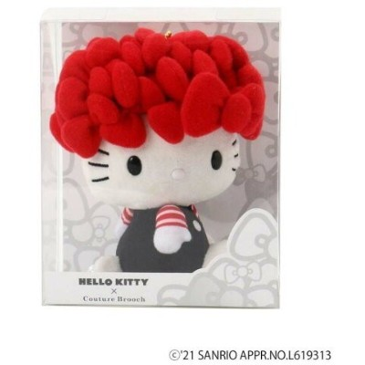 Couture brooch Hello Kitty メニーリボンマスコット クチュールブローチ 生活雑貨 生活雑貨その他 レッド【送料無料】