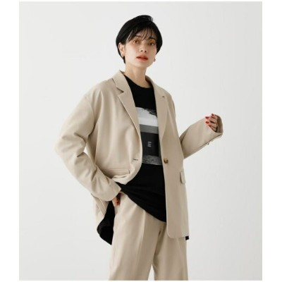 【SALE/30%OFF】AZUL by moussy LOOSE TAILORED JACKET アズールバイマウジー コート/ジャケット コート/ジャケットその他 ホワイト パープル【送料無料】
