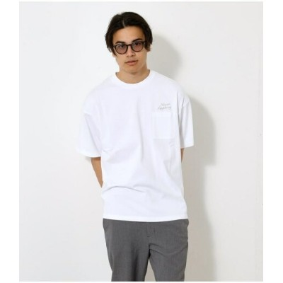 【SALE/49%OFF】AZUL by moussy NEVER ANYTHING POCKET TEE アズールバイマウジー カットソー Tシャツ ホワイト ブラック カーキ【RBA_E】