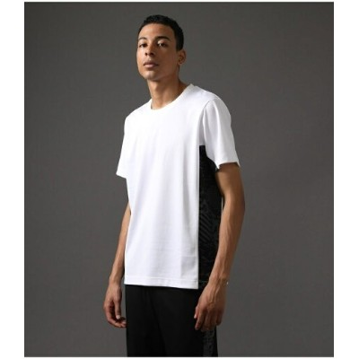 【SALE/60%OFF】AZUL by moussy CLUBAZUL HYBRID T-SHIRT アズールバイマウジー カットソー Tシャツ ホワイト ブラック