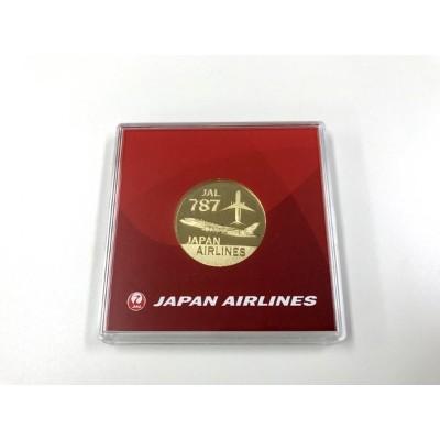 JALメダル 787 JALUX 飛行機/グッズ [BJK6009]