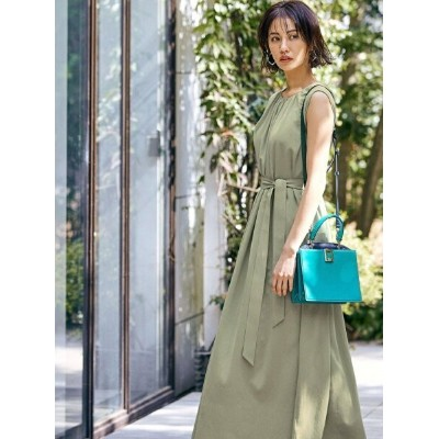 【SALE/60%OFF】LAUTREAMONT  大草直子さんコラボ【OWN】5th Collection 2WAYシアーワンピース ロートレアモン ワンピース シャツワンピース グリーン...