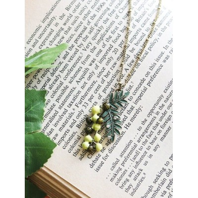 【SALE/20%OFF】axes femme (W)ミモザモチーフネックレス アクシーズファム アクセサリー ネックレス イエロー