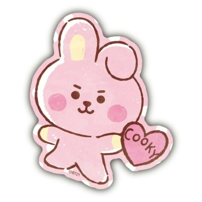 BT21 グッズ トラベルステッカー BABY COOKY LINE FRIENDS
