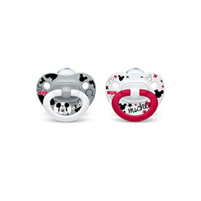 Visit the NUK Store 6-18 Month, Mickey, NUK Disney Mickey Mouse Orthodontic Pacifiers, 6-18 Months,...