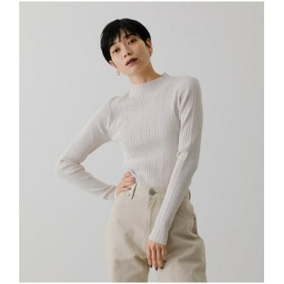 【SALE/57%OFF】AZUL by moussy SNOWY HIGH NECK KNIT TOPS アズールバイマウジー ニット ニットその他 ホワイト グリーン