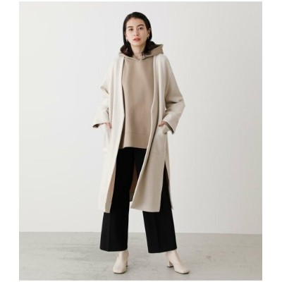 【SALE/50%OFF】AZUL by moussy ECO SUEDE COLLARLESS COAT アズールバイマウジー コート/ジャケット コート/ジャケットその他 ホワイト カーキ