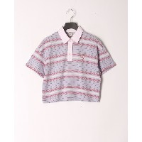 GUESS SS CROPPED POLO○W0GI79K6CY1 ラベンダー トップス