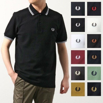 FRED PERRY フレッドペリー M3600 TWIN TIPPED FRED PERRY SHIRT 鹿の子 半袖 ポロシャツ カラー4色 メンズ