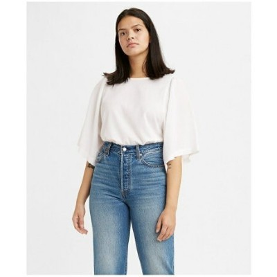 【SALE/40%OFF】Levi's LUCY WING TOP BRIGHT WHITE リーバイス シャツ/ブラウス 長袖シャツ
