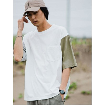 green label relaxing Clean クレイジー クルーネック [Tシャツ] UNITED ARROWS green label relaxing ユナイテッドアローズ...