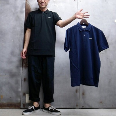 【 LACOSTE / ラコステ 】 L1212 S/S PIQUE POLO SHIRT / 半袖ポロシャツ 鹿の子ポロシャツ