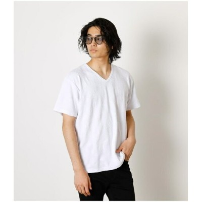 【SALE/33%OFF】AZUL by moussy SHADOW BOTANICAL TEE アズールバイマウジー カットソー Tシャツ ホワイト ピンク カーキ