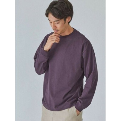 【SALE/30%OFF】UNITED ARROWS green label relaxing SC コンフィヤーン ピーチ クルーネック 長袖 カットソー ユナイテッドアローズ アウトレット...