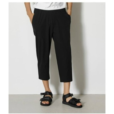 【SALE/50%OFF】AZUL by moussy NYLON STRETCH CROPPED PANTS アズールバイマウジー パンツ/ジーンズ パンツその他 ブラック