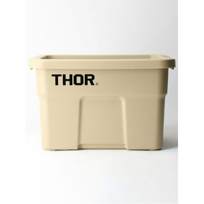 THOR(ソー)  LARGE TOTES WITH LID 22L/トートボックス/収納グッズ BEAUTY & YOUTH UNITED ARROWS ビューティ&ユース ユナイテッドアローズ...