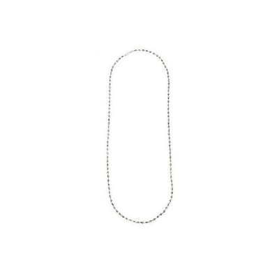 CHROME HEARTS TINY BEADED CHAIN NECKLACE クロムハーツTINY BEADED チェーンネックレス 30インチ
