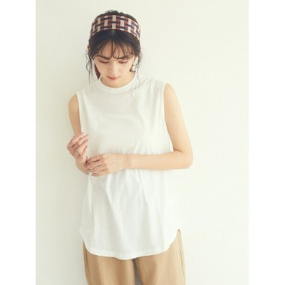【SALE/20%OFF】CRAFT STANDARD BOUTIQUE Women's 【LEE11月号掲載】プチハイネックタンクトップ クラフトスタンダードブティック カットソー...