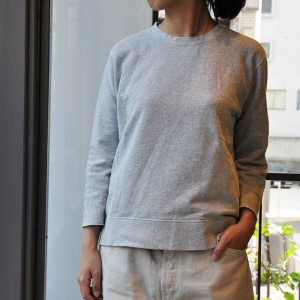 chimala(チマラ) / UNISEX GAUZE TERRY CLOTH CREW TOP