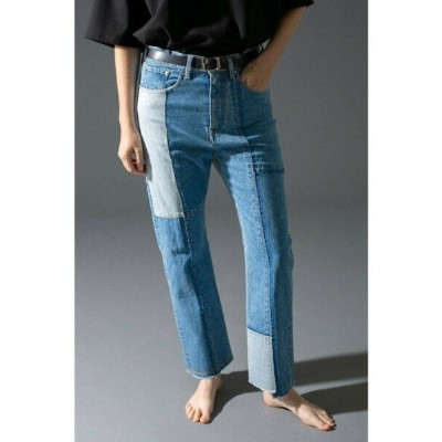 【SALE/40%OFF】BEAUTY & YOUTH UNITED ARROWS  monkey time  PATCH DENIM STRAIGHT/パッチワークデニム ユナイテッドアローズ...