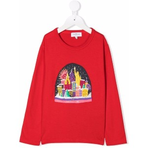 The Marc Jacobs Kids グラフィック Tシャツ - レッド