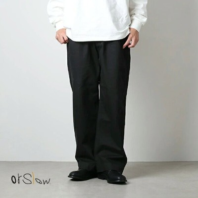 [03-5252-61]orslow(オアスロウ)M-52 French Army Wide Trouser(M-52フレンチアーミートラウザーズ)