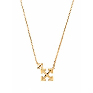 Off-White Double Arrow ネックレス - ゴールドトーン