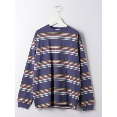 【SALE/30%OFF】UNITED ARROWS green label relaxing  green label relaxing マルチボーダー クルーネック 長袖 カットソー...