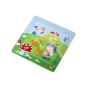 HABA ハバ社 おもちゃ 知育玩具 パズル Flower Pixies Discovery Puzzle