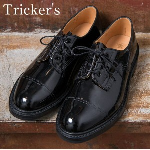 ★40%OFF♪SALE特価!正規品 Made in England【Tricker's】トリッカーズM7195 Cap Toe Country Enamel Shoes キャップトゥカントリーエナメ...