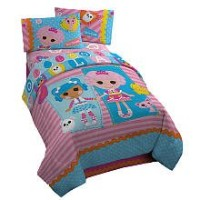 ララループシー ソフトドール 人形 ベッドカバーセット Lalaloopsy Full Comforter Set Includes Comforter Pillow Sham & Bedskirt