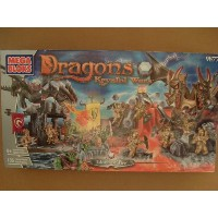 メガブロック 9877 ドラゴン Mega Bloks - Dragons - 9877 - Krystal Wars - Island of Fire