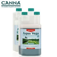 液体肥料 水耕栽培 CANNA AQUA Vega キャナベガ A+B 各1L Hydroponic Nutrients