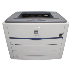 LBP3300 Canon A4レーザープリンタ 約13500枚【中古】