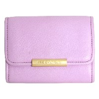 SEE BY CHLOE シーバイクロエ ラウンドファスナー 二つ折り財布 HALF WALLET CHERRY チェリー 9P7391 N106 A25 BALLET ラベンダーカラー