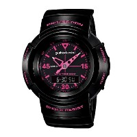 カシオ G-SHOCK MINI 【GMN-500-1B2JR】カラー【BLACK-PINK 】【日本正規品】