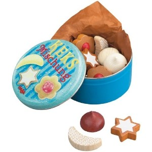 HABA ハバ社 木製 おもちゃ 知育玩具 クッキー Assorted Wooden Cookies with Tin