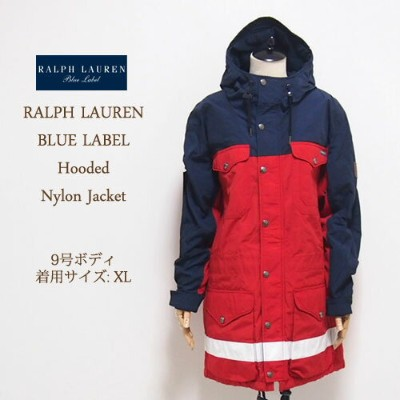 【SALE】【OUTLET】【SALE】【BLUE LABEL by Ralph Lauren】ラルフローレン ブルーレーベル マウンテン パーカー/RED【あす楽対応】