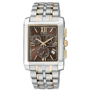 Citizen シチズン メンズ腕時計 Men's AT2016-54X Eco Drive Two-Tone Rose Gold Watch