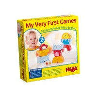HABA ハバ社 木製 おもちゃ 知育玩具 ブロック 動物 My very first games - Zoolino