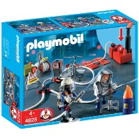 プレイモービル 4825 消防士 PLAYMOBIL Firefighters with Water Pump