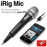 IK Multimedia iRig Mic iPhone/iPod Touch/iPad用コンデンサーマイク(納期未定・ご予約受付中)