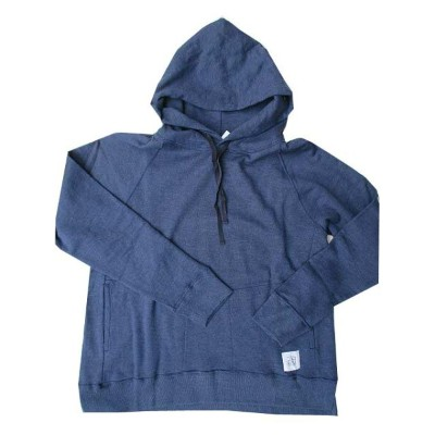 EVER AFTERエバー・アフター裏毛スリットパーカーnavy